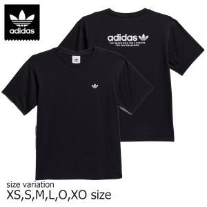 ADIDAS 4.0 LOGO SS TEE BLACK アディダス スケートボード Tシャツ スケボー メンズ SK8 ストリート|crass