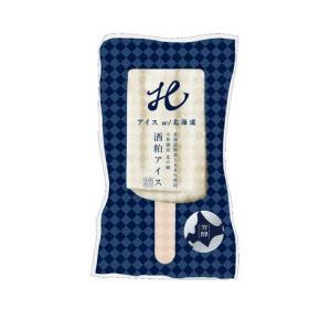 北海道産 アイスキャンディ 酒粕 日本酒 芳醇酒粕アイス5本|crass