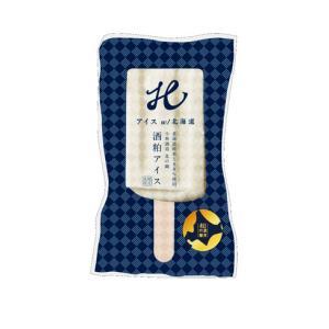 北海道産 アイスキャンディ 酒粕 日本酒 超濃厚吟醸酒粕アイス5本|crass