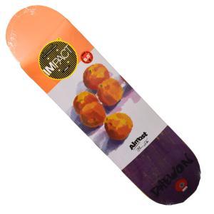 Almost デッキ スケートボード スケボー DECK SKATEBOARD 7.875 Daewon Lotti Oranges Impact Light  オールモスト オルモスト インパクト ライト|crass