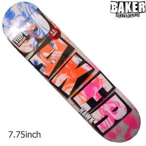 BAKER デッキ ベイカー deck HAWK BRAND NAME INK DROPS スケボー 正規品 SKATEBOARD O.G.CONCAVE SKATE スケートボード|crass