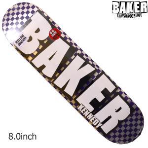 BAKER デッキ ベイカー deck 8 BRAND NAME CHECKFOIL スケボー 正規品 SKATEBOARD O.G.CONCAVE SKATE スケートボード|crass
