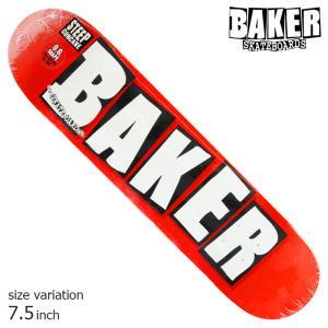 BAKER デッキ ベイカー deck BRAND LOGO WHITE MINI 7.5 スケボー 正規品 SKATEBOARD O.G.CONCAVE SKATE スケートボード|crass