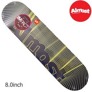 Almost デッキ スケートボード スケボー UNKNOWN YURI Impact Support インパクト シグネチャー プロモデル オールモスト オルモスト インパクト ライト|crass