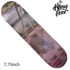 THE KILLING FLOOR キリングフロア― デッキ FRACTAL 7,75 スケボー スケートボード SKATE BOARD|crass