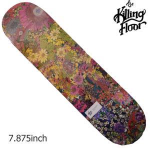 THE KILLING FLOOR キリングフロア― デッキ WILD FLOWER 1 7,875 スケボー スケートボード SKATE BOARD|crass