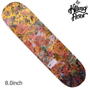 THE KILLING FLOOR キリングフロア― デッキ WILD FLOWER 2 8.0 スケボー スケートボード SKATE BOARD 花柄|crass