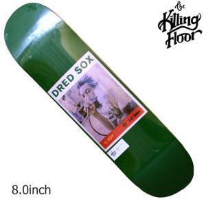 THE KILLING FLOOR キリングフロア― デッキ U-ROY 8.0 スケボー スケートボード SKATE BOARD|crass