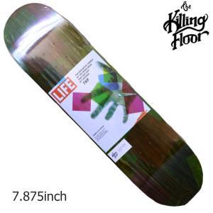 THE KILLING FLOOR キリングフロア― デッキ EXPLOSIVE THREAT 7,875 スケボー スケートボード SKATE BOARD|crass