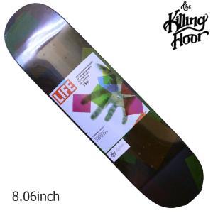 THE KILLING FLOOR キリングフロア― デッキ EXPLOSIVE THREAT 8.06 スケボー スケートボード SKATE BOARD|crass