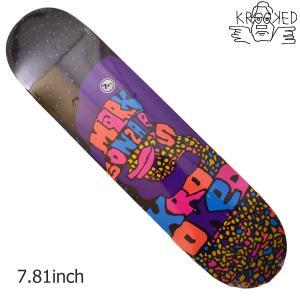 KROOKED デッキ スケートボード スケボー GONZ SUMMA LOVE 7.81 クルキッド クルックド プロ モデル メンズ スケート SKATE ゴンズ アソート crass