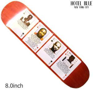 HOTEL BLUE NYC SKATE デッキ ホテル ブルー スケート ボード 8 RAPPER MUGSHOT DECK スケボー ストリート SKATEBOARD crass