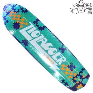 KROOKED デッキ スケートボード スケボー ZIG ZAGGER PIECE OUT クルキッド クルックド プロ モデル メンズ スケート SKATE ゴンズ アソート crass