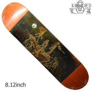 KROOKED デッキ スケートボード スケボー SEBO FASION VICTUM 8.12 クルキッド クルックド プロ モデル メンズ スケート SKATE ゴンズ アソート crass