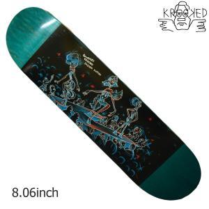 KROOKED デッキ スケートボード スケボー GONZ  FASION VICTUM 8.06 クルキッド クルックド プロ モデル メンズ スケート SKATE ゴンズ アソート crass