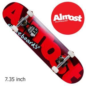 Almost デッキ COKOR LOGO  PREMIUM COMP 7.375 inch BLUE スケートボード  オールモスト デッキ オルモスト 7.375インチ 青 crass