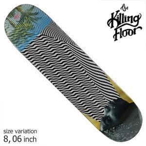 THE KILLING FLOOR キリングフロア― デッキ NINA  8.06 スケボー スケートボード SKATE BOARD crass