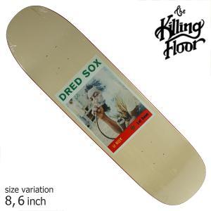 THE KILLING FLOOR キリングフロア― デッキ DREAD SOX 8.6 スケボー スケートボード SKATE BOARD crass