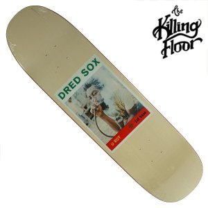 THE KILLING FLOOR キリングフロア― デッキ DREAD SOX 8.0 スケボー スケートボード SKATE BOARD crass