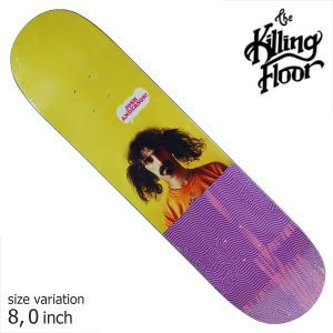 THE KILLING FLOOR キリングフロア― デッキ ANDERSON FREAK OUT 8.0 スケボー スケートボード SKATE BOARD crass