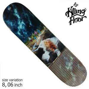 THE KILLING FLOOR キリングフロア― デッキ STEAM OF CONSCIOUSESS 8.06 スケボー スケートボード SKATE BOARD crass