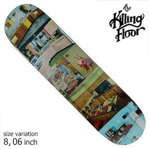 THE KILLING FLOOR キリングフロア― デッキ CHAPIN DINNER TIME 8.06 スケボー スケートボード SKATE BOARD crass