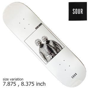 SOUR Oscar Bear Suit 7.875 8.375inch DECK スケートボード スケボー デッキ SKATEBOARD サワー|crass