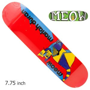MEOW デッキ ミャオ PRO MARIAH KIP 7.75 キッズ レディース ガールズ スケボー スケートボード チーム SKATE SK8 ねこ ネコ crass