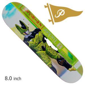 PRIMITIVE×DRAGONBALL Z I プリミティブ TUCKER×CELL skateboard スケボー メンズ スケート ボード  ストリート SKATEBOARD|crass