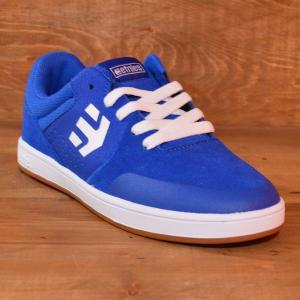 etnies MARANA gum KIDS エトニーズ スニーカー スケートボード 20 21 22 23 BLUE WHITE GUM ジュニア 子供 ベビー スケボー スケート 青 白 ガム 運動靴|crass