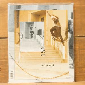 THE SKATEBOARD MAG スケートボードマガジン 雑誌 スケボー SKATE SK8 スケートボード スケボー 151|crass
