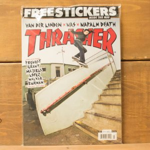 THRASHER MAGAZINE #432 2016 スラッシャーマガジン Daan Van Der Linden(ダン ヴァンダー リンデン)表紙|crass