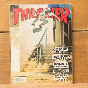 THRASHER MAGAZINE #437 2016 スラッシャーマガジン Ronnie Sandoval(ルーニー・サンドヴァル) 表紙|crass