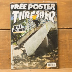 THRASHER MAGAZINE #441 2017 スラッシャーマガジン Kyle Walker(カイル・ウォーカー) 表紙|crass