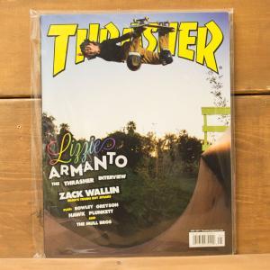 THRASHER MAGAZINE #442 2017 スラッシャーマガジン Lizzie Armanto(リジー・アーマント) 表紙|crass