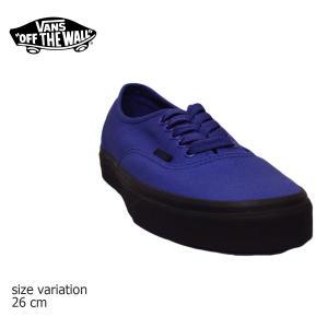 VANS スニーカー AUTHENTIC オーセンティック オールドスクール old skool バンズ BLK BLUE スケボー メンズ スケシュー SK8 靴|crass