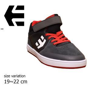 etnies スニーカー エトニーズ KIDS MARANA MT キッズ マラナ GRY BLK RED スケートボード メンズ レディース スケボー スケート ストリート 黒 グレイ 赤|crass