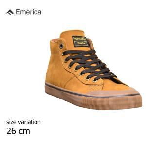 エメリカ ペンデルトン コラボ スニーカー  emerica×PENDLETON スケート シューズ メンズ レディース 茶 ガム BROWN GUM 靴 スケシュー スケートボード|crass