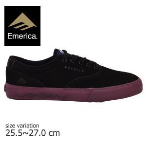 エメリカ トイマシーン スニーカー EMERICA PROVOST TOYMACHINE コラボ バルカナイズ スケート シューズ メンズ PURPLE BLACK 紫 黒 靴|crass