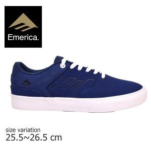 EMERICA スニーカー エメリカ REYNOLDS G6 レイノルズ スケート シューズ メンズ レディース BLUE WHITE GUM 靴 スケートボード 青 白 ガム|crass