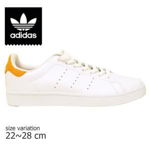 ADIDAS SKATEBOARDING スニーカー アディダス スケートボード STAN SMITH VULC スタンスミス バルカ YELLOW WHITE スケボー メンズ スケシュー SK8 靴 黄色 白|crass
