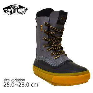 VANS スノーブーツ SNOW BOOTS STANDARD  GREY 長靴 冬靴 スノースケート|crass