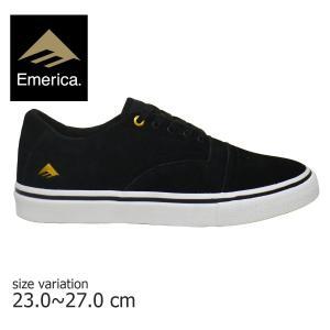 emerica スニーカー エメリカ メンズ PROVIDER WHITE BLACK GOLD ホワイト ブラック ゴールド スケートボード シューズ  シグネチャー プロモデル|crass