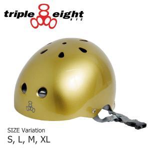 TRIPLE EIGHT ヘルメット プロテクター トリプルエイト HELMET GLOSSY SWEATSAVER LINER スケートボード キッズ ジュニア エクストリーム BMX スキー 子供|crass
