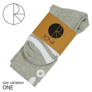 POLAR SKATE CO. ポーラー HAPPY/SAD SOCKS  ソックス 靴下|crass
