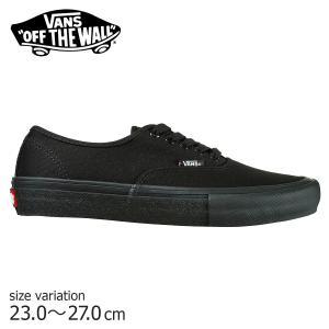 スニーカー VANS AUTHENTIC PRO BLACK / BLACK オーセンティック プロ バンズ スケボー メンズ スケシュー SK8 靴|crass