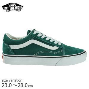 VANS OLD SKOOL Bistro Green / TRUE WHT スニーカー バンズ ヴァンズ オールドスクール スケートボード スケボー スケシュー SK8 靴|crass