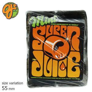 OJ SUPER JUICE MINI TRANS BLACK 78A 55mm ウィール スーパージュース ソフトウィール クルージング クルーザー パーツ スケートボード スケボー 街乗り|crass