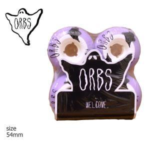 ORBS Wheel オーブス ウィール WELCOME skateboards ウェルカム Poltergeists 102a SK8 purple white パープル ホワイト スケート|crass
