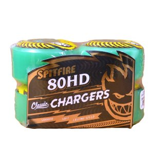SPITFIRE 80hd CHARGER classic  wheels ウィール 54 56 classic スケボー CHARGER TEAL スピットファイア クラシック ソフトウィール クルーザー|crass